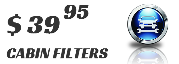 $39.95 CABIN FILTERS
